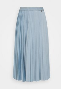 Rich & Royal - PLISSEE SKIRT - Pleated skirt - smoked blue - 4