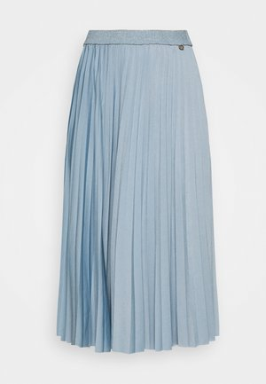 PLISSEE SKIRT - Pleated skirt - smoked blue