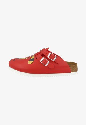 Mules - red