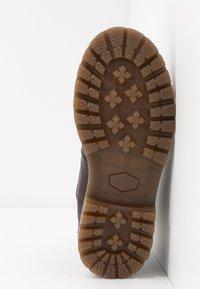 Bisgaard - Zimní obuv - dark brown - 5