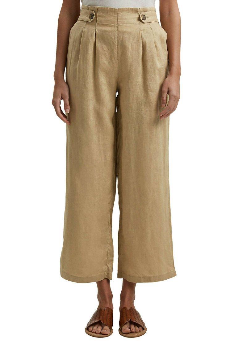 Esprit - Trousers - sand