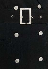 Selected Femme - SLFDORA DRESS - Cowboyjakker - black denim - 2