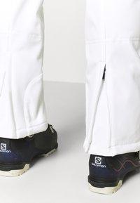 Icepeak - ENTIAT - Snow pants - optic white - 4