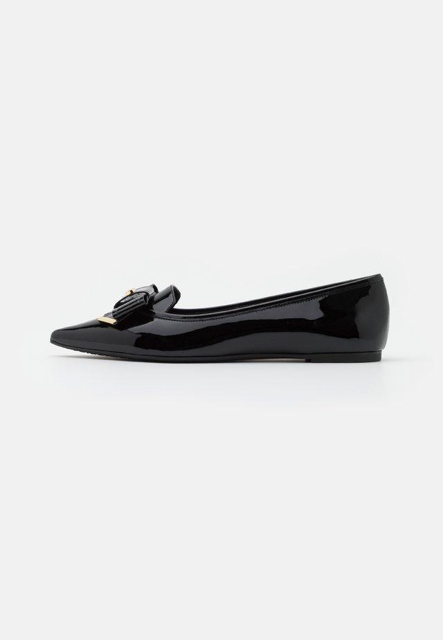 BELLE FLAT - Bailarinas - black