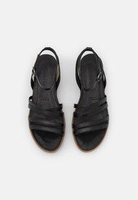 Tamaris - Platform sandals - black - 5