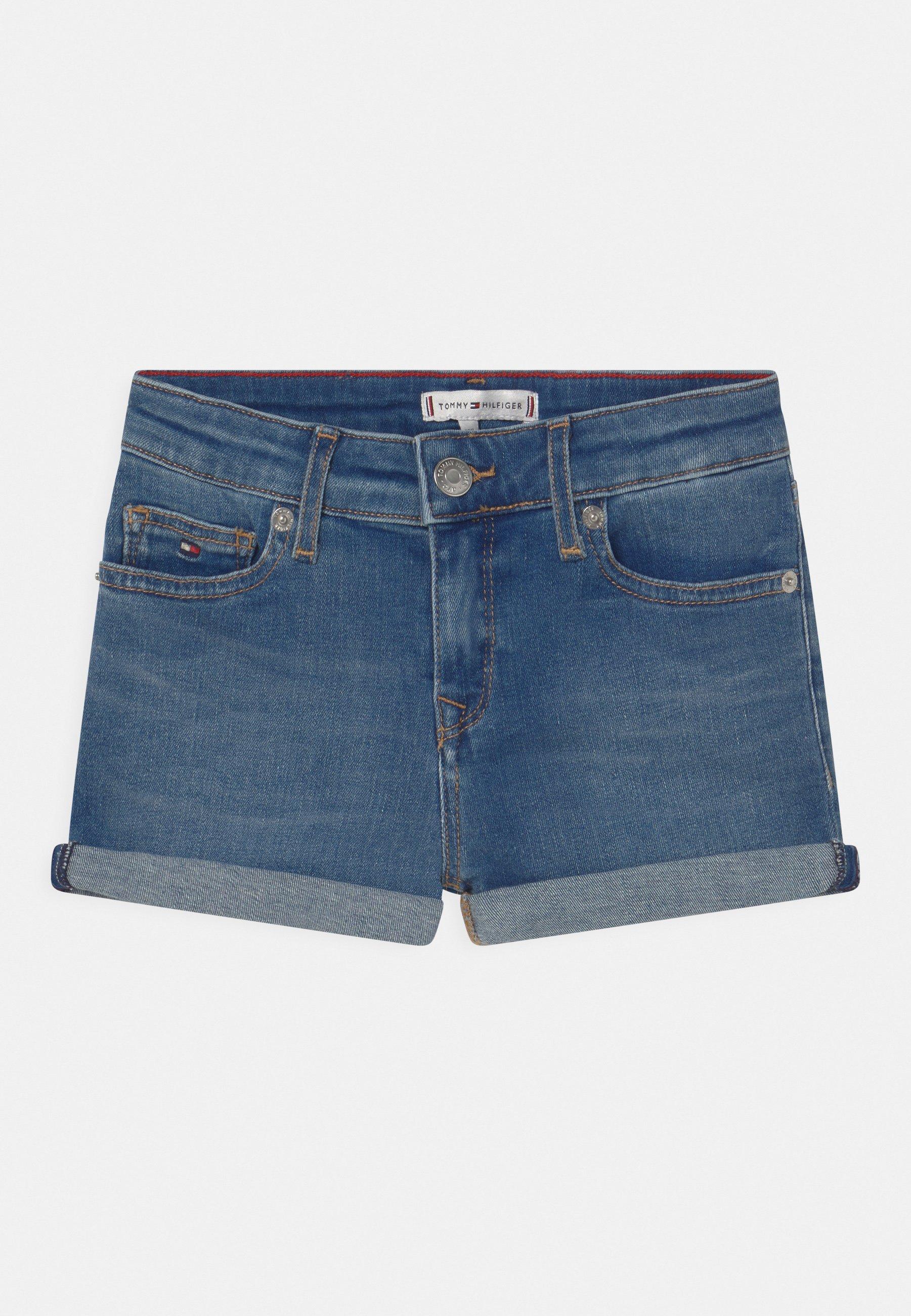 Kids NORA BASIC - Denim shorts