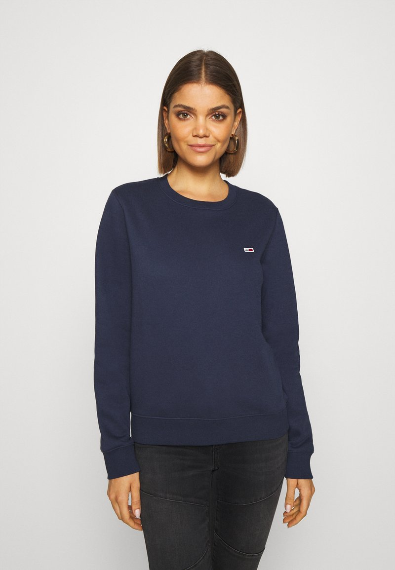 Tommy Jeans - REGULAR C NECK - Sweater - blue