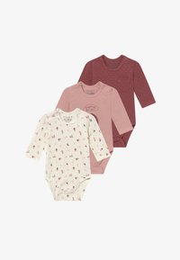 Hust & Claire - BASE BABY 3 PACK - Body - dusty rose - 3