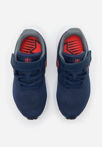 Nike Performance - STAR RUNNER 2 UNISEX - Neutral running shoes - midnight navy/bright crimson/smoke grey/black