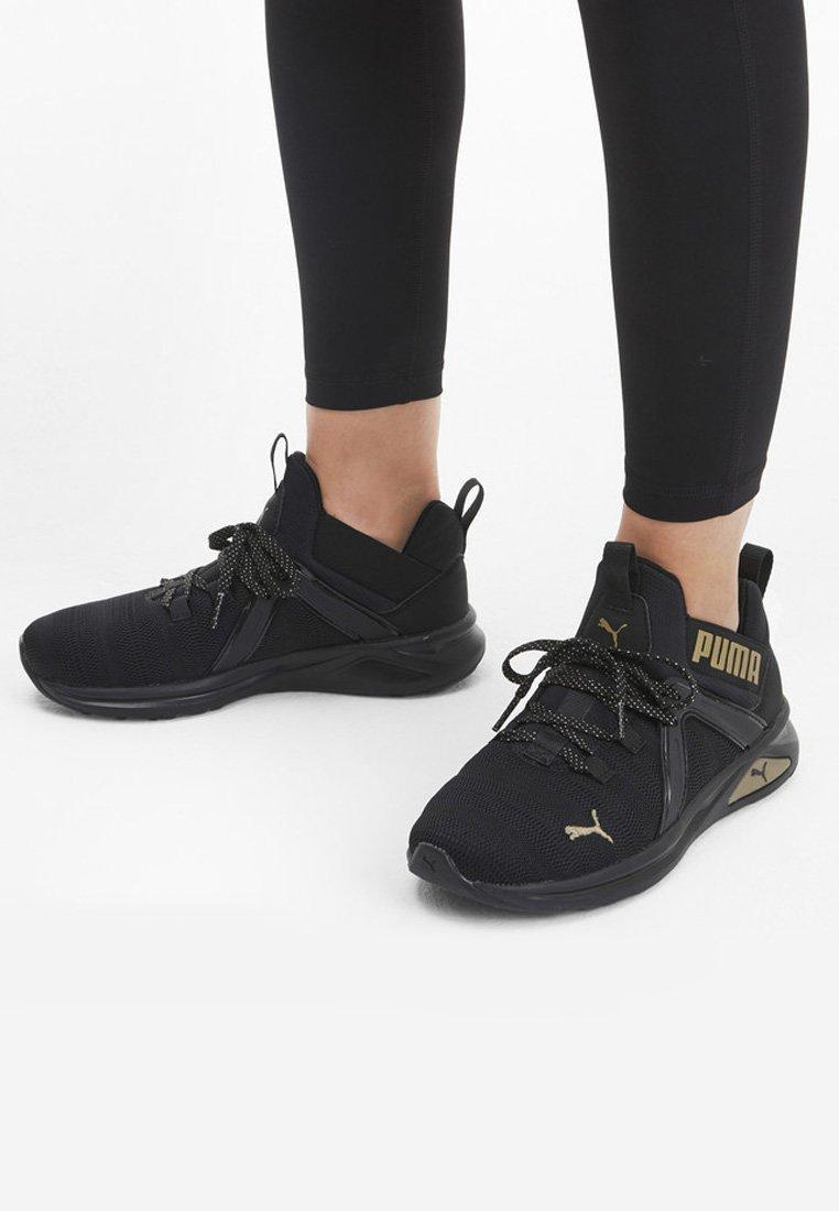Puma - Trainers - black/gold
