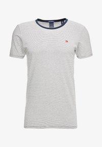 Scotch & Soda - STRIPE REPEAT - T-shirt print - white - 4