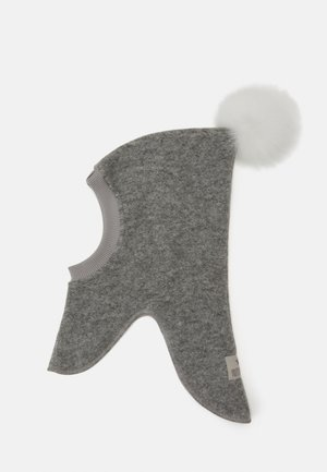 TRAINEE POMPOM - Mössa - light grey/white