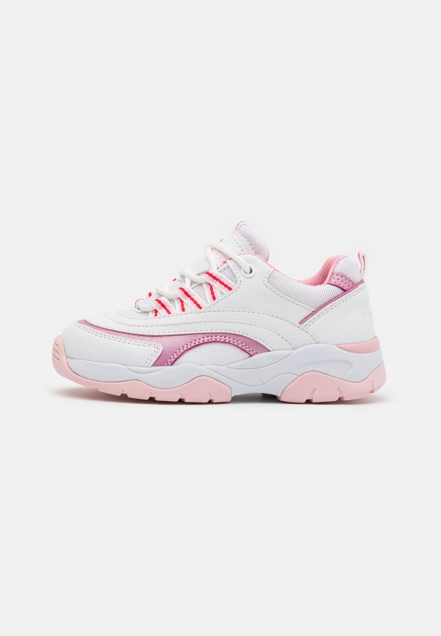 Sneakers basse - white/rose