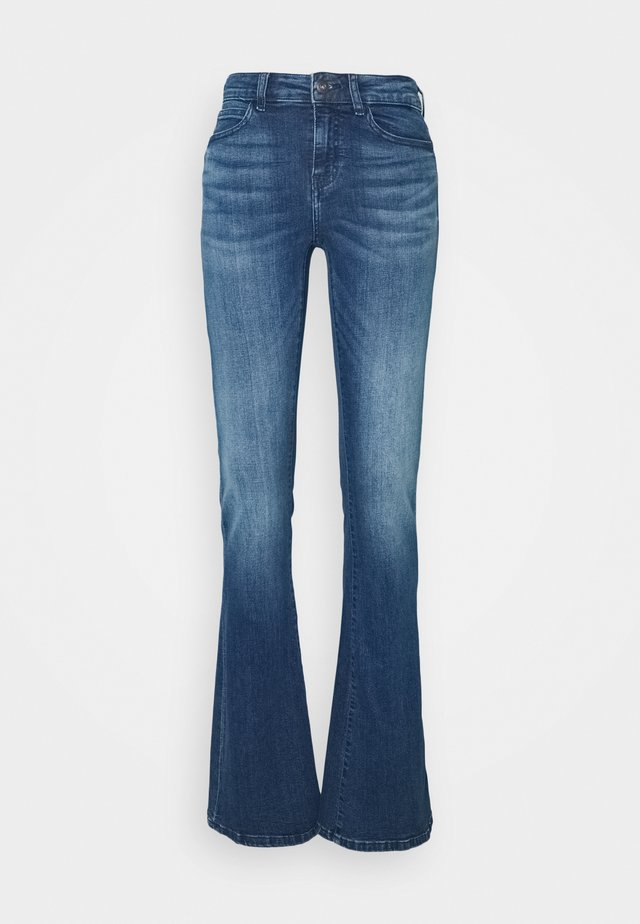 NMMARLI - Flared Jeans - medium blue denim