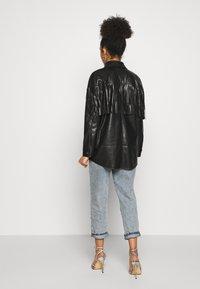 River Island Petite - Faux leather jacket - black - 2