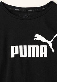 Puma - TEE - Triko spotiskem - black - 3