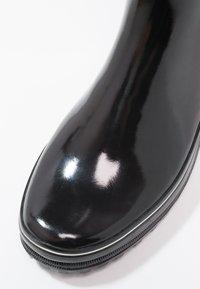Aigle - VENISE - Wellies - noir/blanc - 2