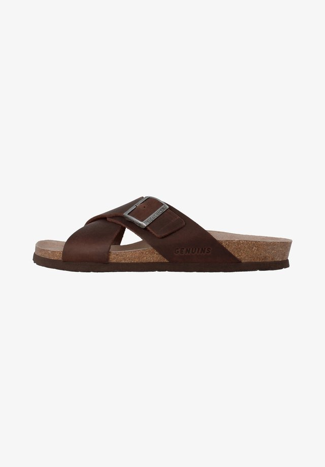 MANCHESTER - Sandals - braun