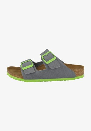 ARIZONA - Slippers - desert soil gray green