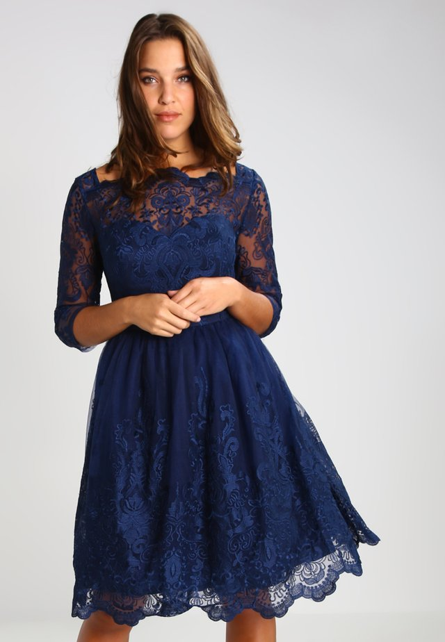 GISELLE - Cocktail dress / Party dress - navy