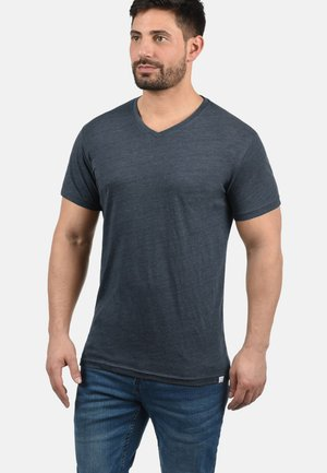 V-SHIRT BEDO - Basic T-shirt - light grey