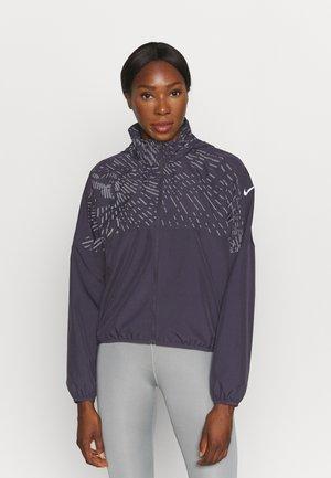 RUN REFLECTIVE  - Sports jacket - cave purple/atomic orange