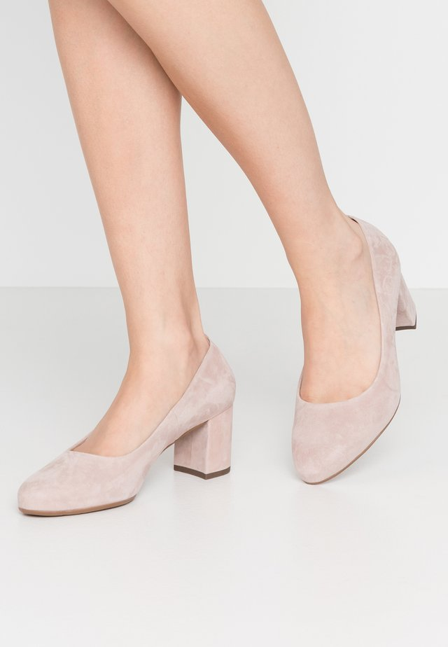 WIDE FIT WINA - Tacones - mauve