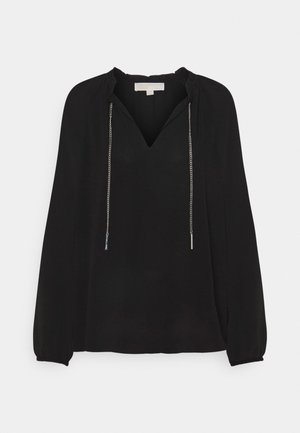 SOLID CHAIN  - Blouse - black