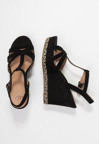 UGG - MELISSA - Højhælede sandaletter / Højhælede sandaler - black - 3
