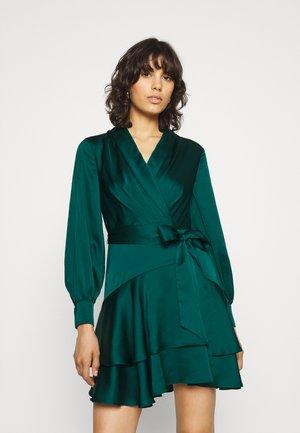 MIKAYLA MINI DRESS - Cocktail dress / Party dress - deep emerald green