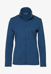 Salomon - OUTRACK - Fleece jacket - dark denim - 0