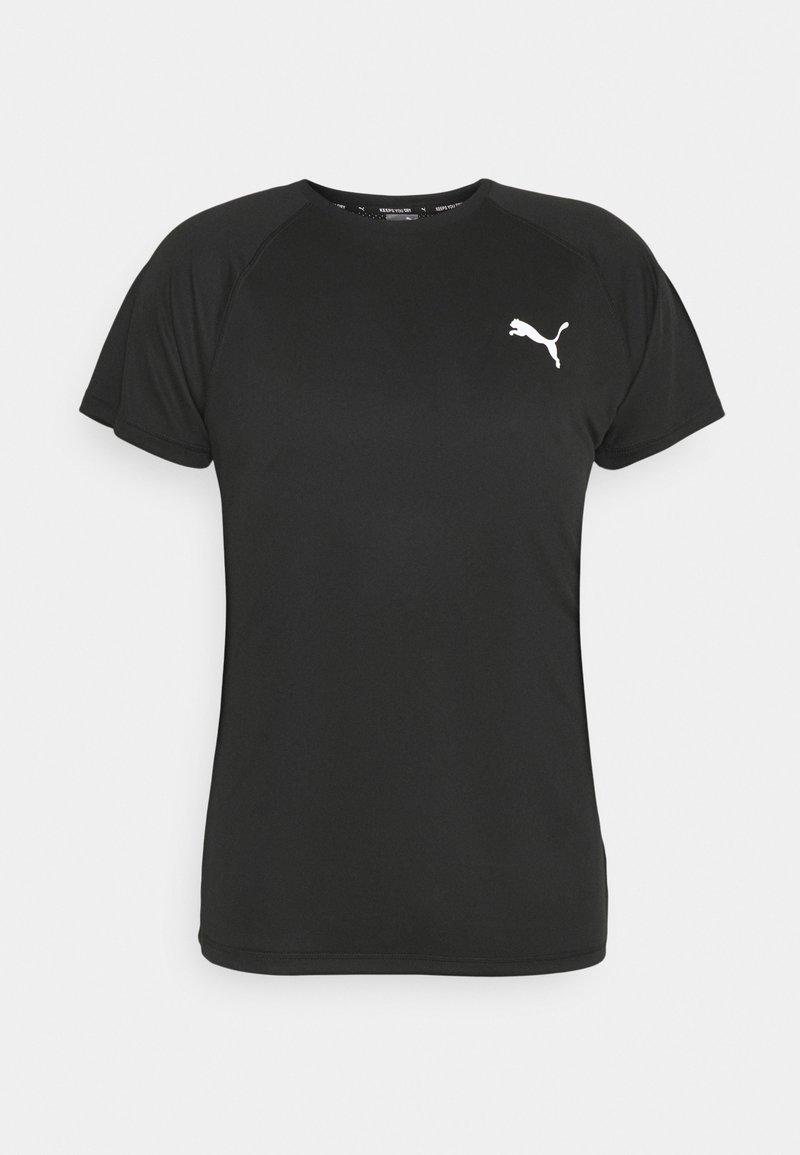Puma - TEE - T-shirts print - puma black