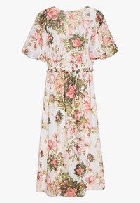 Dorothy Perkins - FLORAL PRINT SEQUIN MIDAXI DRESS - Vestito estivo - blush - 1