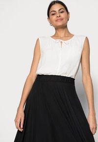 Esprit - SKIRT - A-line skirt - black - 3