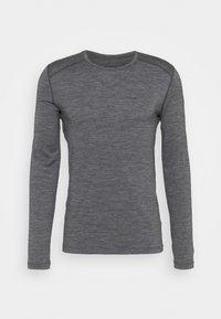 Icebreaker - MENS CREWE - Sports shirt - gritstone heather - 0