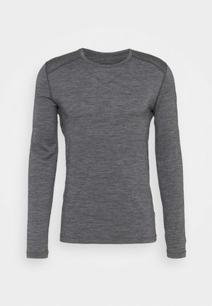 MENS CREWE - Funkční triko - gritstone heather