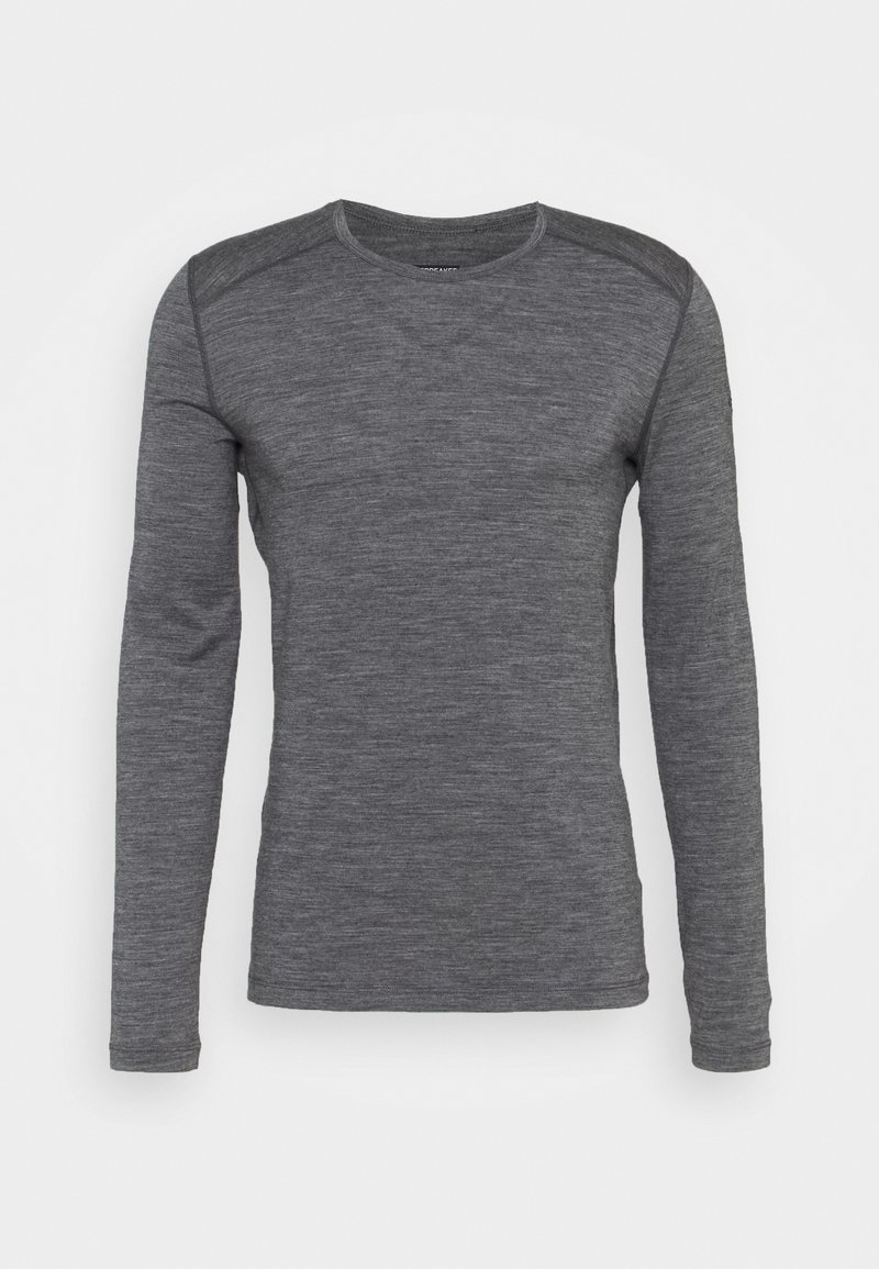 Icebreaker - MENS CREWE - Sports shirt - gritstone heather