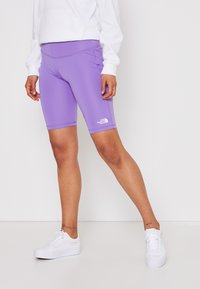 The North Face - FLEX SHORT  - Tights - pop purple - 0