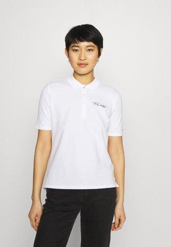 REGULAR SCRIPT - Polo shirt - white