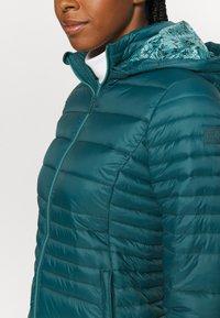 CMP - WOMAN JACKET SNAPS HOOD - Winter jacket - petrolio - 6