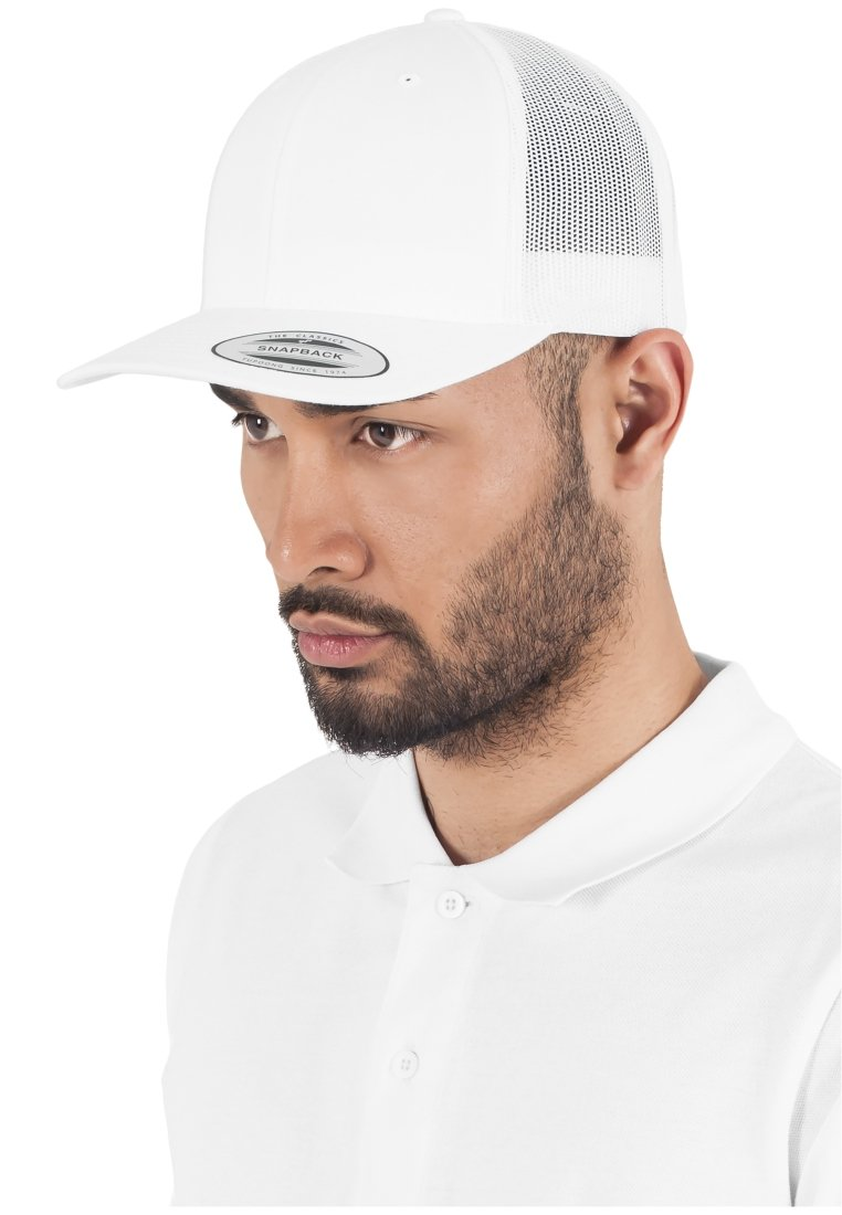 Flexfit - CLASSIC TRUCKER - Cap - white