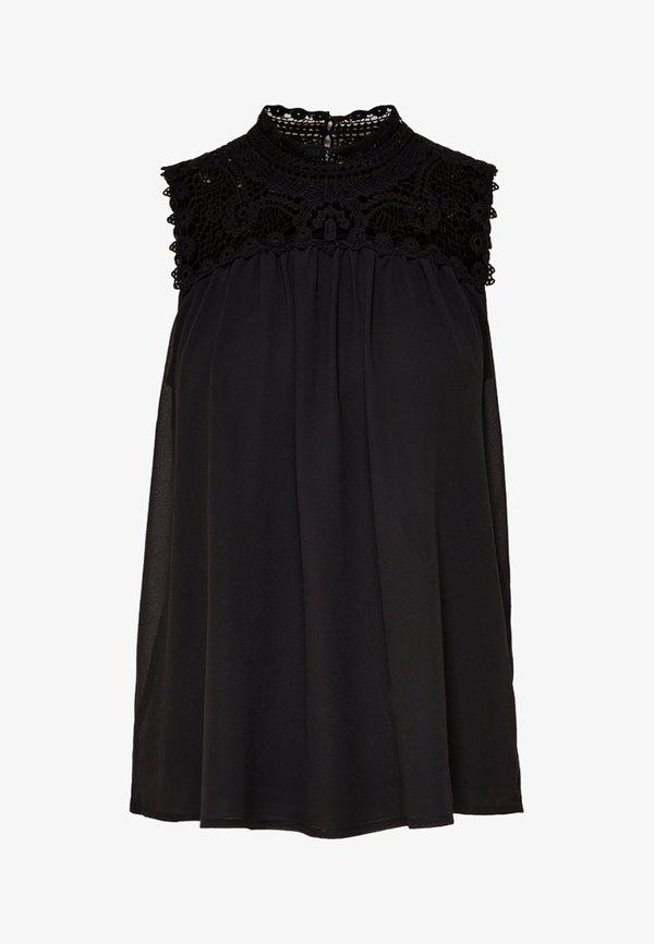ONLY ONLNEW CAT - Bluzka - black/czarny OSDF