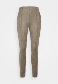 Vero Moda Tall - VMCAVA ZIP - Bukse - taupe - 0