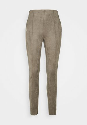 VMCAVA ZIP - Trousers - taupe