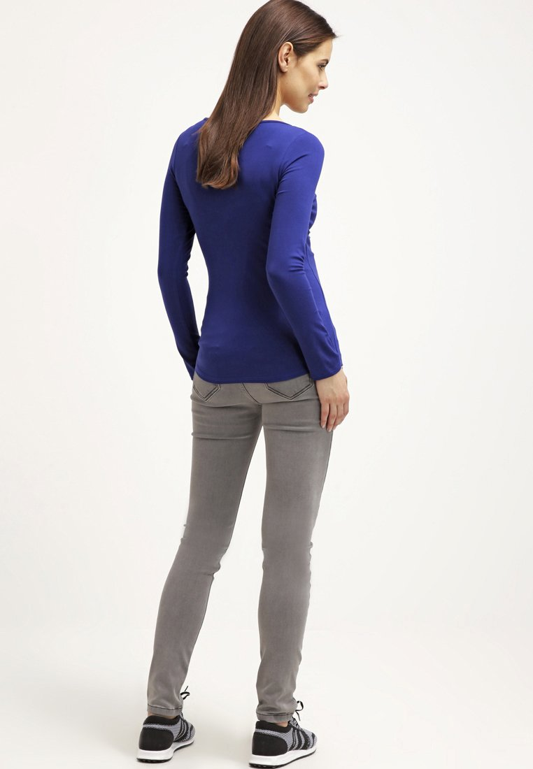 Women ZOE - Long sleeved top - blau