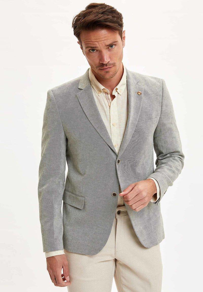 DeFacto - Blazer jacket - mint