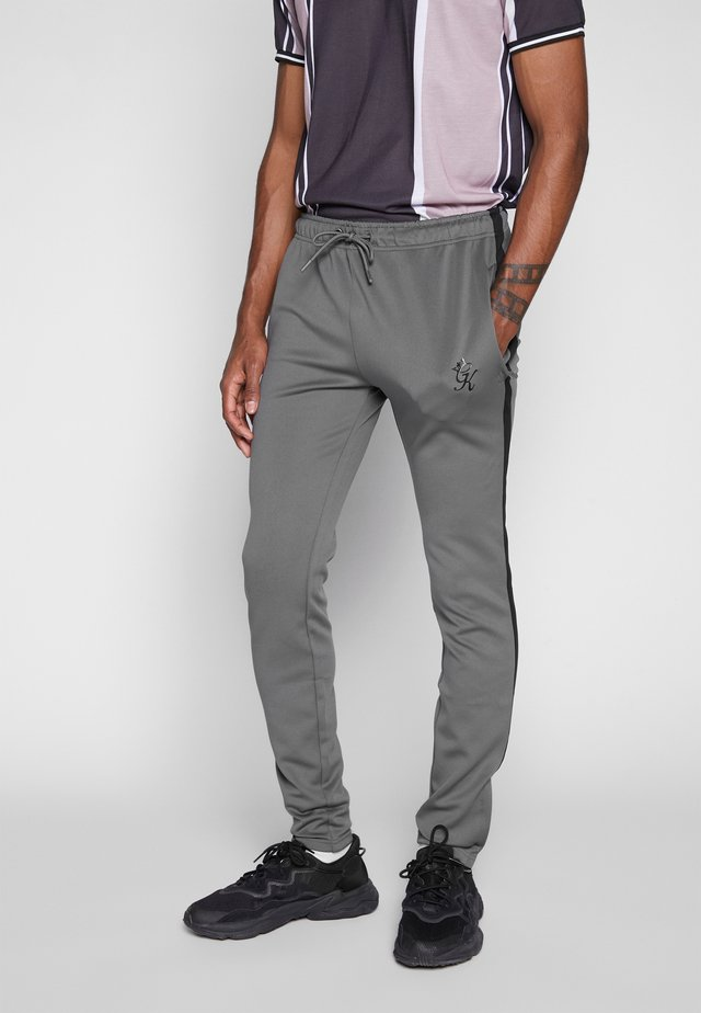 BASIS TRACKSUIT - Tracksuit bottoms - grey