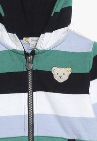 Steiff Collection - STRIPE HOODY BABY - veste en sweat zippée - navy - 3