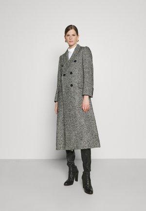 CARUSO - Classic coat - black
