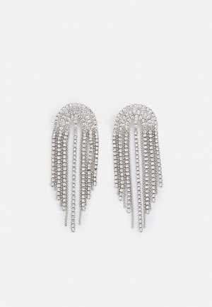 WATERFALL - Earrings - silver-coloured
